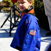 Future astronaut, Connor J, 6
