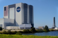 Look at the garage doors on the VAB