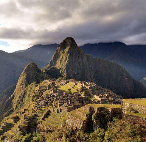 Machu Picchu from Wikipedia.