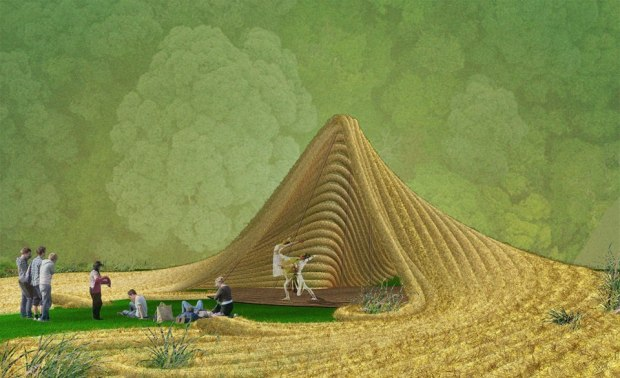 """What Antonio Torres' """"living ampitheater"""" will look like. Photo: Courtesy of Bittertang"""