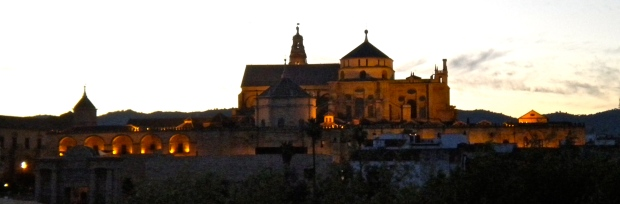 Mezquita, from across the river