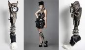 British singer/songwriter Viktoria Modesta modeling her Speaker Leg. © Alternative Limb Project