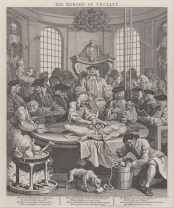 "William Hogarth's ""The Fourth Stage of Cruelty"", 1751. Credit: Wikimedia."